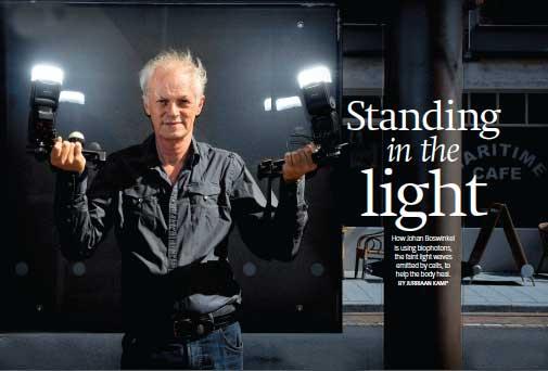 Johan Boswinkel - Standing in the Light
